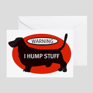 basset-humps Greeting Card