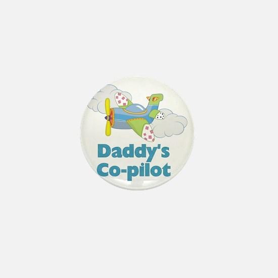 Daddys Co-pilot (boy) Mini Button