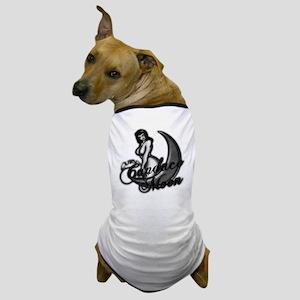 C._moon_fin1gry_Blk_glow Dog T-Shirt