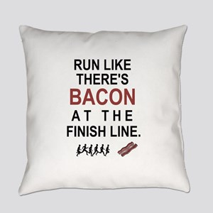 Will Run for Bacon Everyday Pillow