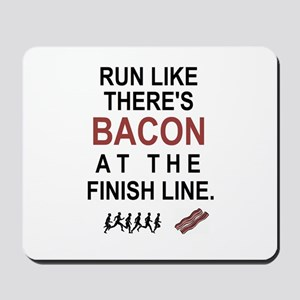 Will Run for Bacon Mousepad