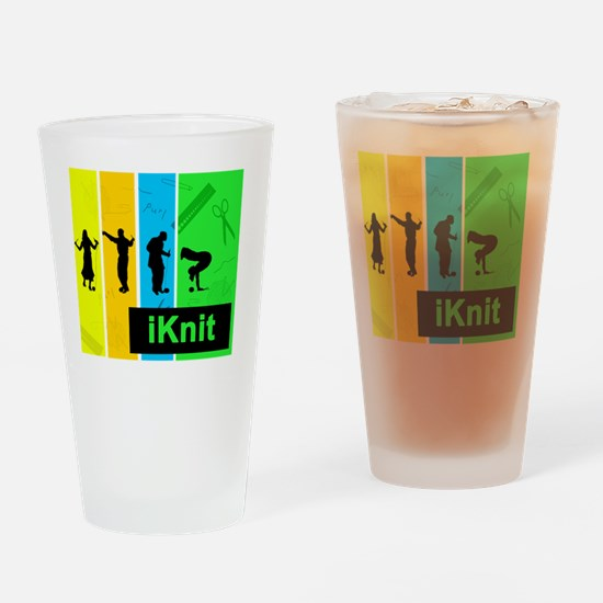 I knit 2 Drinking Glass