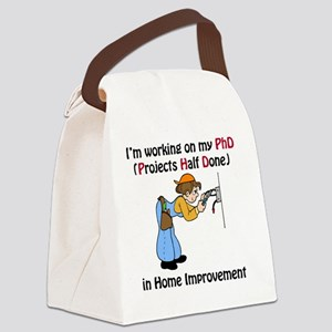 HomeImprovementPhD Canvas Lunch Bag