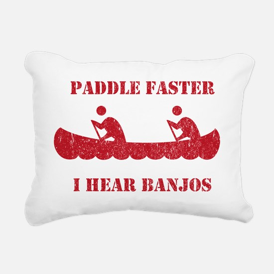PaddleFaster Rectangular Canvas Pillow