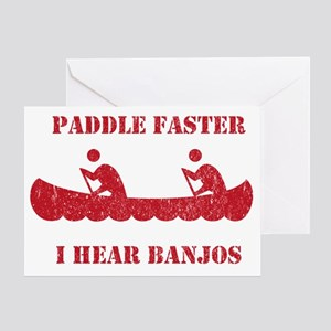 PaddleFaster Greeting Card