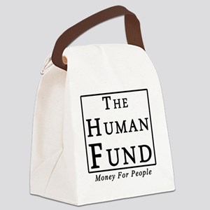 The Human Fund (light) Canvas Lunch Bag