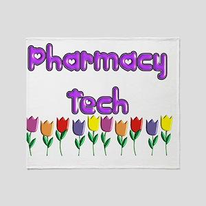 Pharmacy Tech Throw Blanket