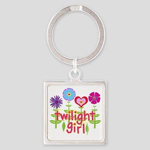 twilight girl by twibaby Square Keychain