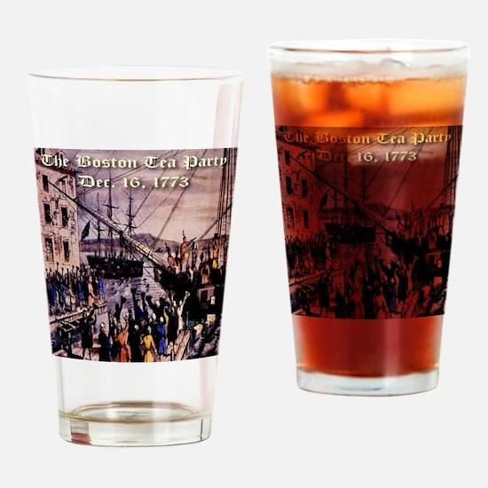 thebostonteaparty_16dec1773 Drinking Glass