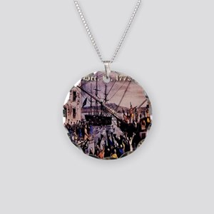 thebostonteaparty_16dec1773 Necklace Circle Charm