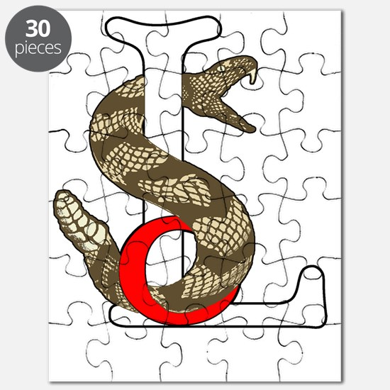 SnakeSoL_t-shirt_template copy Puzzle