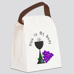 Eucharist Chalice Canvas Lunch Bag