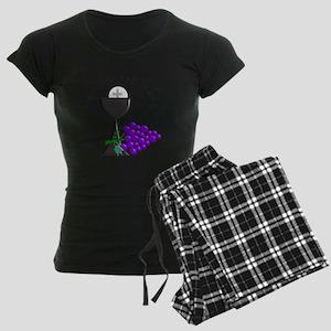 Eucharist Chalice Women's Dark Pajamas
