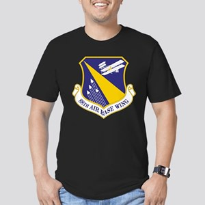 USAF 88th Air Base Win Men's Fitted T-Shirt (dark)