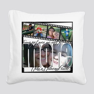 1000 words Square Canvas Pillow
