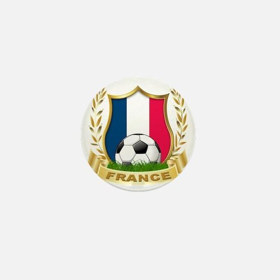 3-france Mini Button