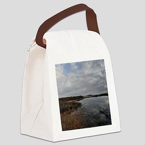 heavenandearth_pi_tile1 Canvas Lunch Bag