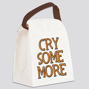 Cry Canvas Lunch Bag
