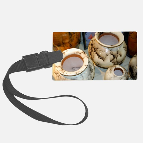 horsehair pottery Luggage Tag