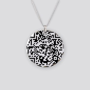 Apparently your QR code read Necklace Circle Charm