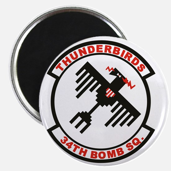 34th_bomb_sq Magnet