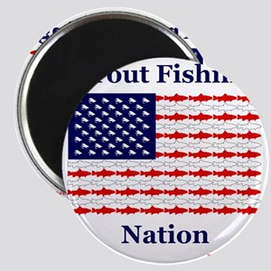 trout nation Magnet