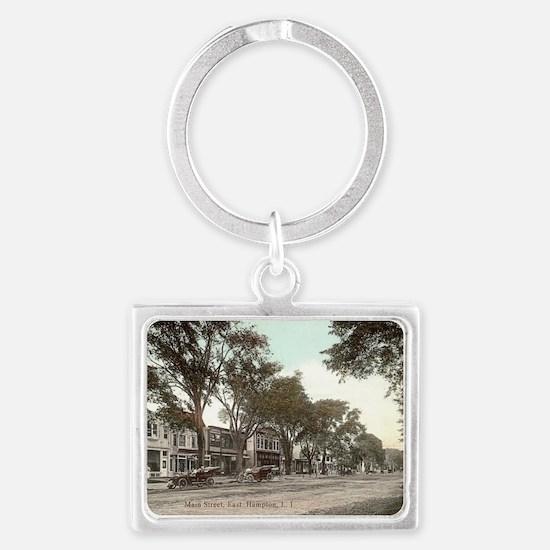 Main Street Landscape Keychain