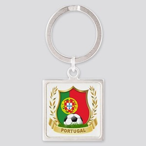 4-portugal Square Keychain