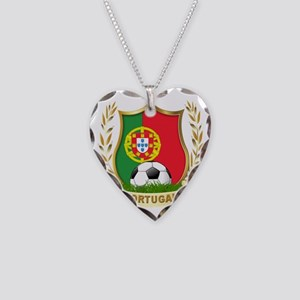 4-portugal Necklace Heart Charm