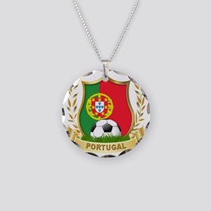 4-portugal Necklace Circle Charm