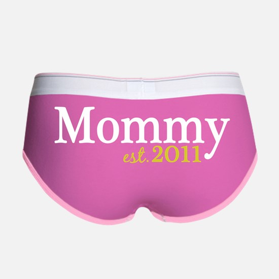 mommy 2011 dark Women's Boy Brief