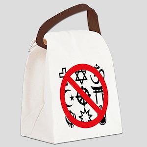 No Religion Canvas Lunch Bag