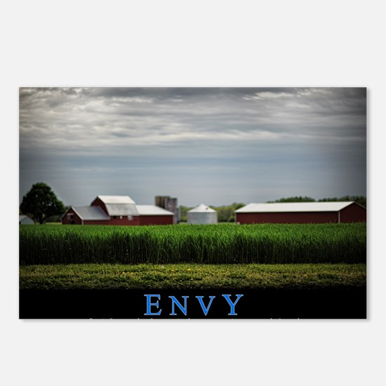 Envy Postcards (Package of 8)