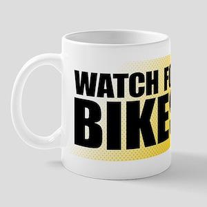 watchForBikes_final Mug
