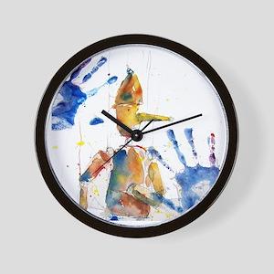 PINOA10x10_apparel Wall Clock