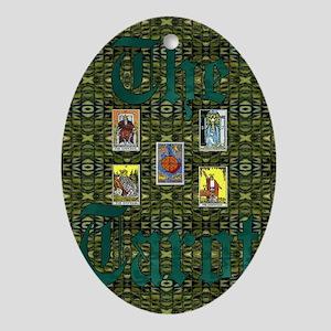The Tarot Oval Ornament