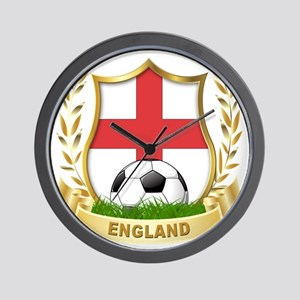 4-england Wall Clock