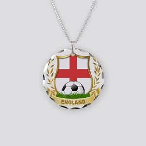 4-england Necklace Circle Charm