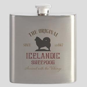 The original Icelandic Sheepdog Flask