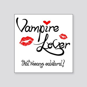 "Vampire Square Sticker 3"" x 3"""