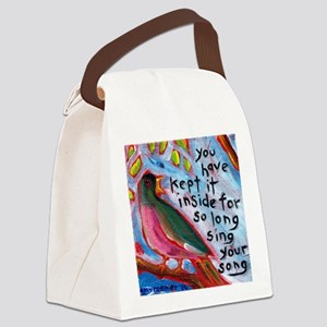 your song Canvas Lunch Bag