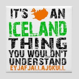 Iceland Thing Tile Coaster