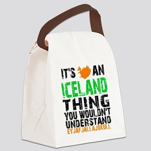 Iceland Thing Canvas Lunch Bag