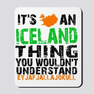 Iceland Thing Mousepad