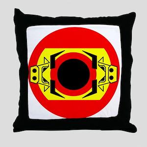 Spanish Bull by Asbjorn Lonvig Throw Pillow