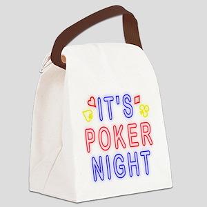 T0083B-PokerNight-2000x2000 Canvas Lunch Bag