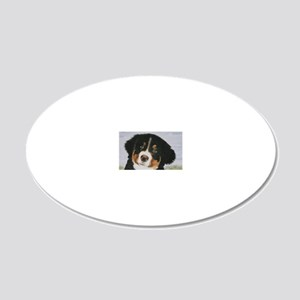Johnnie 20x12 Oval Wall Decal