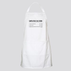 Simplified Tax BBQ Apron