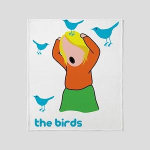 the_birds Throw Blanket