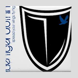 shield_black Tile Coaster